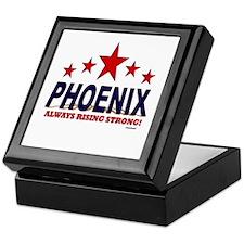 Phoenix Always Rising Strong Keepsake Box
