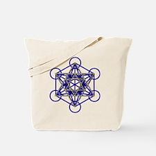 MetatronBlueStar Tote Bag