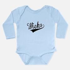 Wicks, Retro, Body Suit