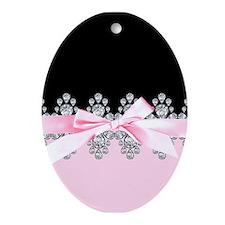 Diamond Delilah Ornament (Oval)