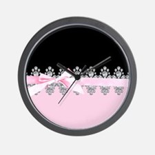 Diamond Delilah Wall Clock