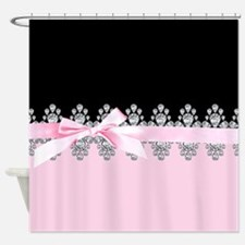 Diamond Delilah Shower Curtain