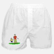 Father and Son (Blond) Boxer Shorts