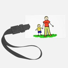Father and Son (Blond) Luggage Tag