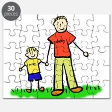 Father and Son (Blond) Puzzle