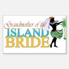 Grandmother of the Island Bri Sticker (Rectangular