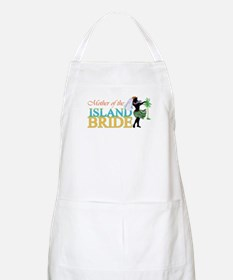 Mother of the Island Bride BBQ Apron
