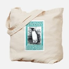 1933 Falkland Islands Penguin Postage Stamp Tote B