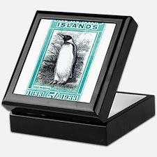 1933 Falkland Islands Penguin Postage Stamp Keepsa