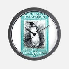 1933 Falkland Islands Penguin Postage Stamp Wall C