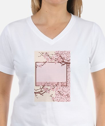 light pink cherry-blossom T-Shirt