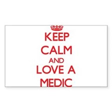 Keep Calm and Love a Medic Decal