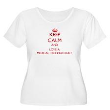 Keep Calm and Love a Medical Technologist Plus Siz