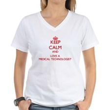 Keep Calm and Love a Medical Technologist T-Shirt
