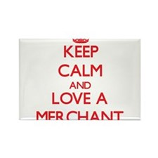 Keep Calm and Love a Merchant Magnets