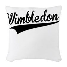 Wimbledon, Retro, Woven Throw Pillow