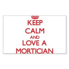 Keep Calm and Love a Mortician Decal