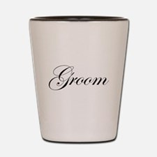 Groom Fancy Shot Glass