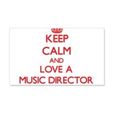 Keep Calm and Love a Music Director Wall Decal
