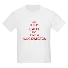 Keep Calm and Love a Music Director T-Shirt