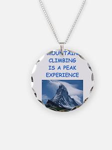 mountain climbing Necklace