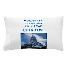 mountain climbing Pillow Case