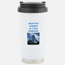 mountain climbing Travel Mug