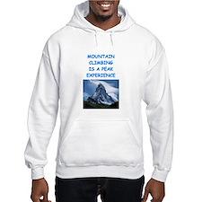 mountain climbing Hoodie