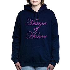 Matron of Honor Fancy Women's Hooded Sweatshirt