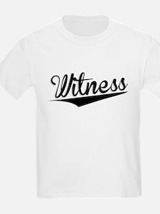 Witness, Retro, T-Shirt