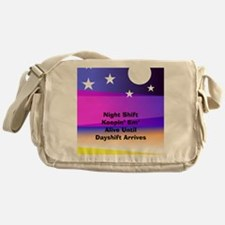 Night Shift Messenger Bag