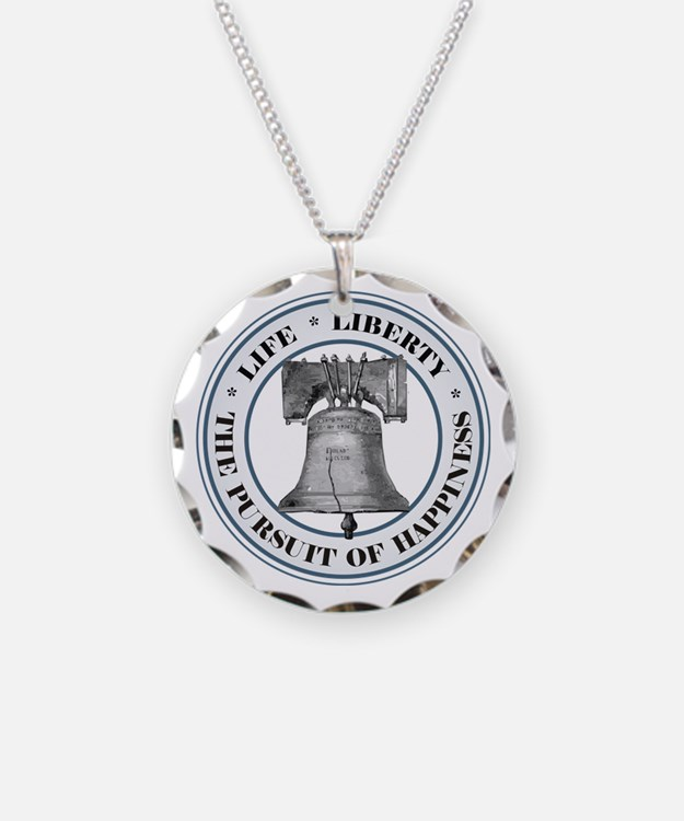 Logo Liberty Bell.png Necklace