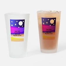 Night Shift Drinking Glass