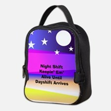 Night Shift Neoprene Lunch Bag