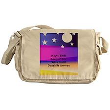 Night Shift Messenger Bag