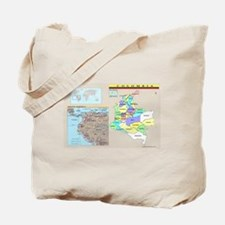 Location Colombia Tote Bag