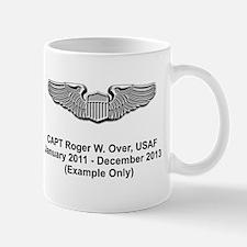 Kc-135r Pilot Wings Mug Mugs