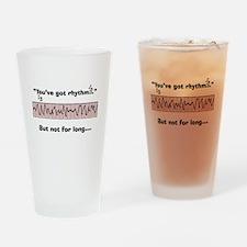 Cardiac Nurse Humor Drinking Glass