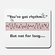 Cardiac Nurse Humor Mousepad