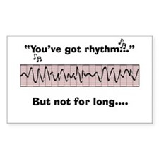 Cardiac Nurse Humor Decal
