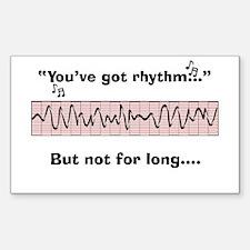 Cardiac Nurse Humor Decal