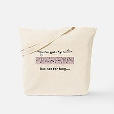 Cardiac Nurse Humor Tote Bag