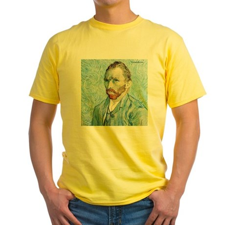 Vincent Van Gogh Blue Self-Portrait Artist T-Shirt