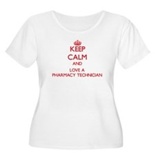 Keep Calm and Love a Pharmacy Technician Plus Size