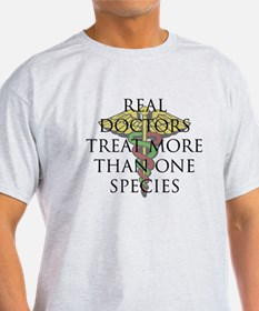 Real Doctors Treat More Than One Species Design #2