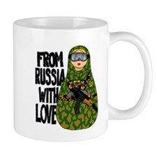 From Russia With Love NESTING DOLL Mugs
