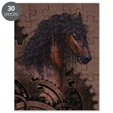 Steampunk Horse Puzzle