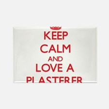 Keep Calm and Love a Plasterer Magnets