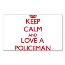 Keep Calm and Love a Policeman Decal