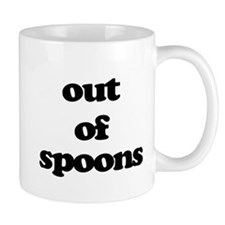 Out of Spoons Mugs